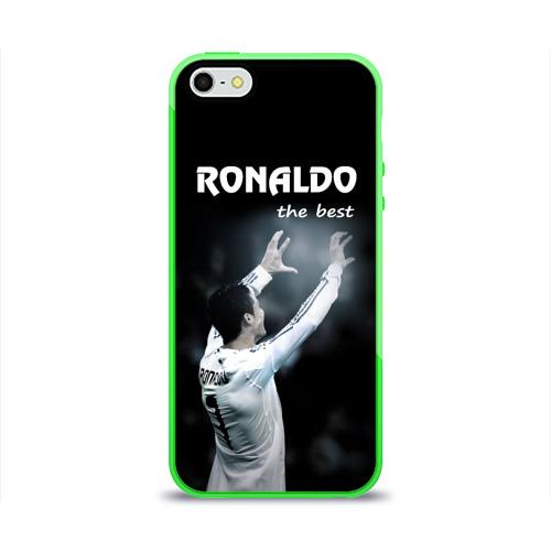 Чехол для Apple iPhone 5/5S силиконовый глянцевый RONALDO the best Фото 01