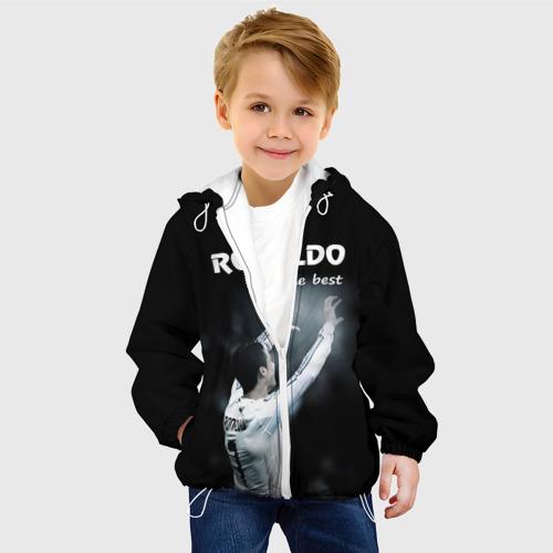 Детская куртка 3D  Фото 03, RONALDO the best