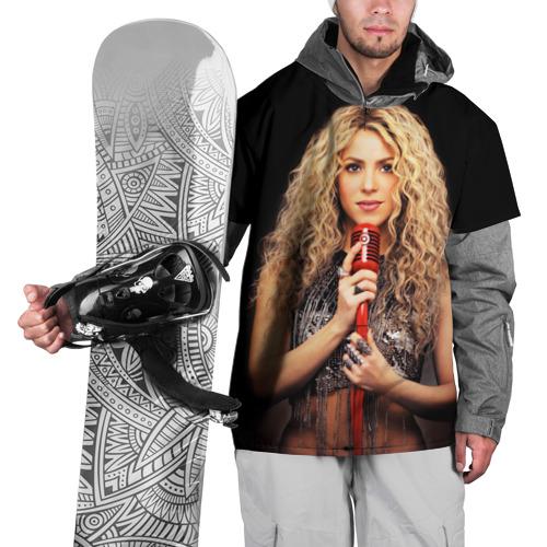 Накидка на куртку 3D  Фото 01, Шакира