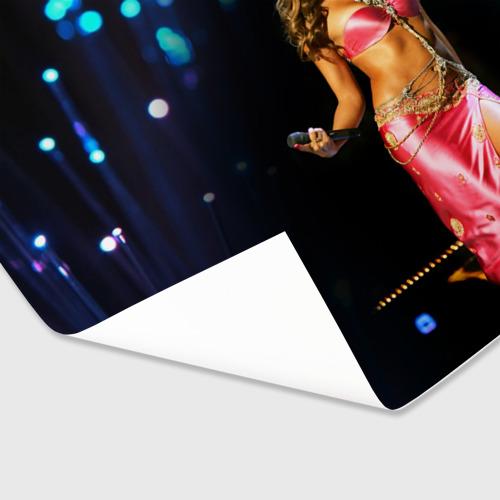 Бумага для упаковки 3D  Фото 03, Шакира