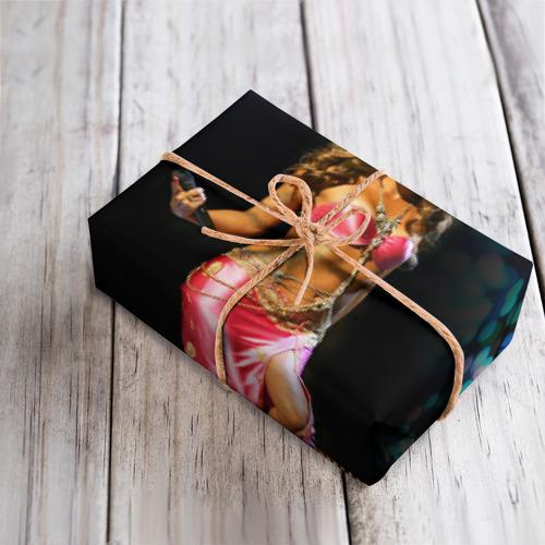 Бумага для упаковки 3D  Фото 04, Шакира