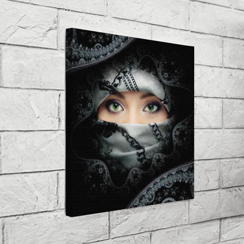 Холст квадратный  Фото 03, Восточная девушка