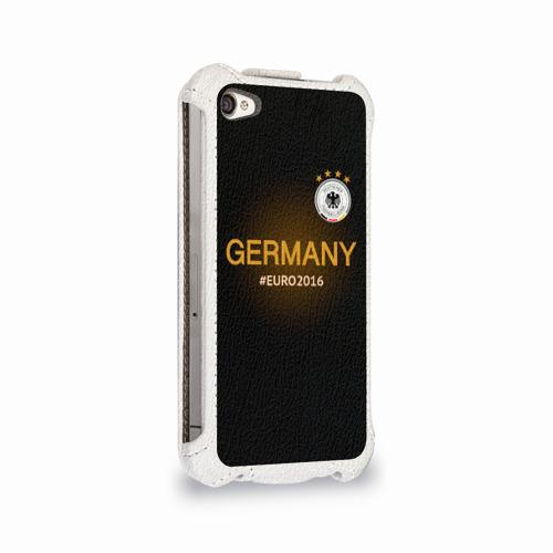 Чехол для Apple iPhone 4/4S flip  Фото 02, Сборная Германии 2016
