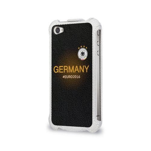 Чехол для Apple iPhone 4/4S flip  Фото 03, Сборная Германии 2016