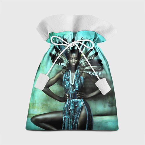 Подарочный 3D мешок Африканская девушка