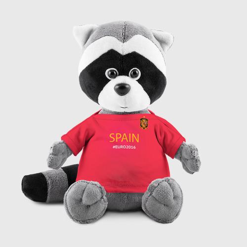 Енотик в футболке 3D Сборная Испании 2016