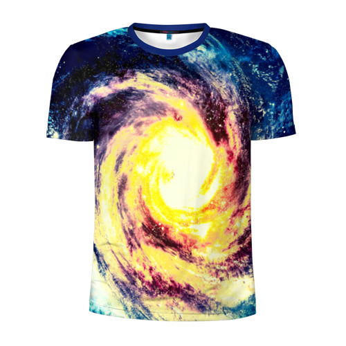 Мужская футболка 3D спортивная Вселенная