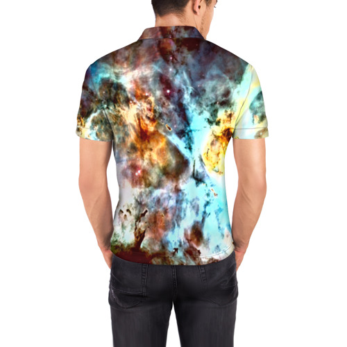 Мужская рубашка поло 3D  Фото 04, Вселенная