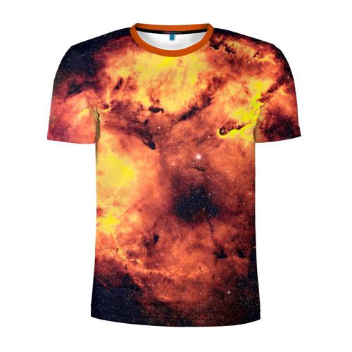 Мужская футболка 3D спортивная Nebula