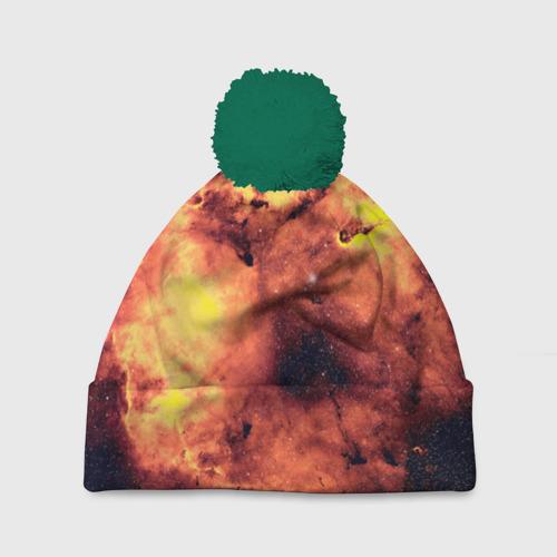 Шапка 3D c помпоном Nebula