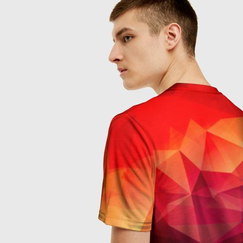 Мужская футболка 3D Абстракция Фото 01