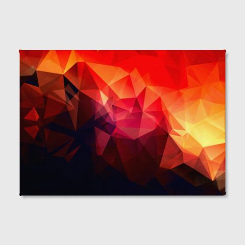 Холст прямоугольный Абстракция Фото 01