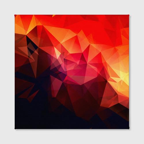 Холст квадратный Абстракция Фото 01
