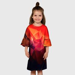 Детское платье 3DАбстракция