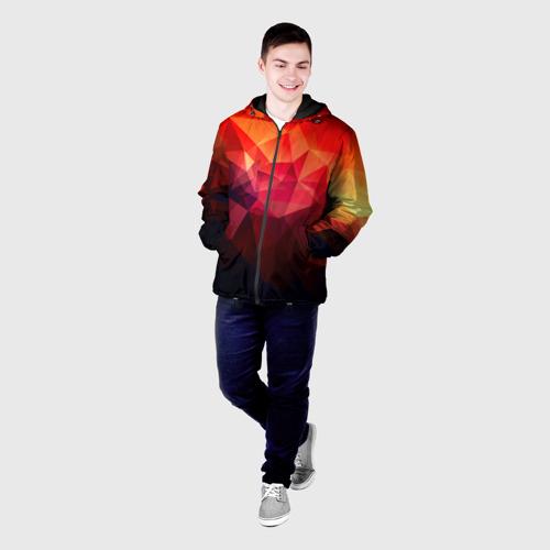 Мужская куртка 3D Абстракция Фото 01