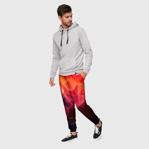 Мужские брюки 3D Абстракция Фото 01