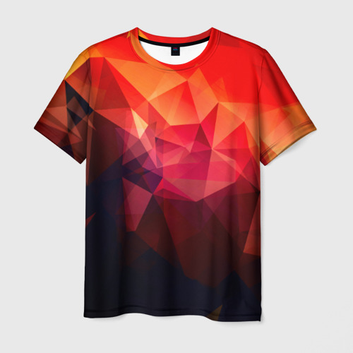 Мужская футболка 3D 'Абстракция'