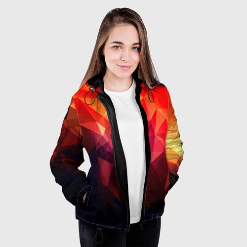 Женская куртка 3D Абстракция Фото 01