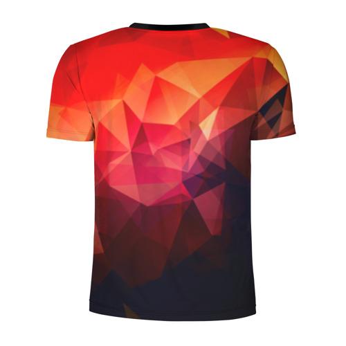 Мужская футболка 3D спортивная  Фото 02, Абстракция