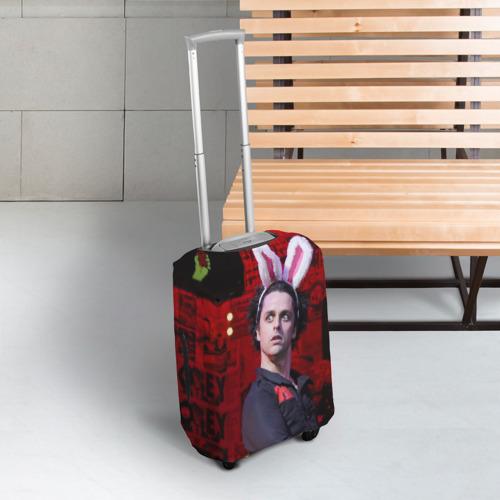 Чехол для чемодана 3D Грин Дей Фото 01