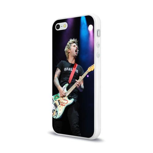 Чехол для Apple iPhone 5/5S силиконовый глянцевый  Фото 03, Green Day