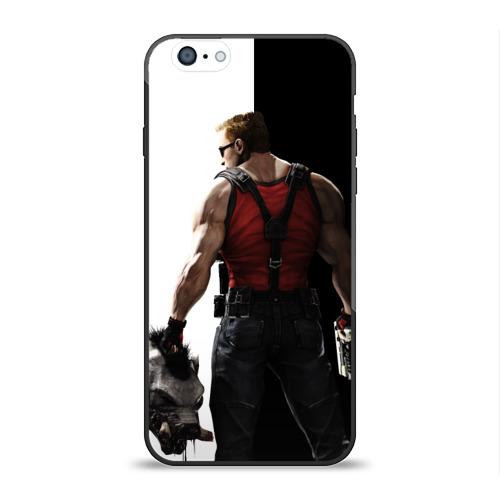 Чехол для Apple iPhone 6 силиконовый глянцевый Duke Nukem от Всемайки