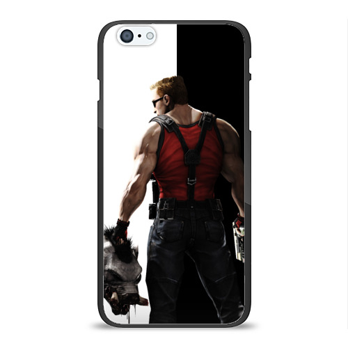 Чехол для Apple iPhone 6/6S Plus силиконовый глянцевый Duke Nukem от Всемайки