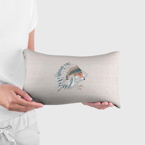 Подушка 3D антистресс  Фото 03, Лиса в перьях