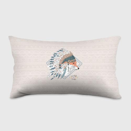 Подушка 3D антистресс  Фото 01, Лиса в перьях