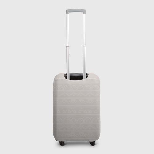 Чехол для чемодана 3D Лиса в перьях Фото 01