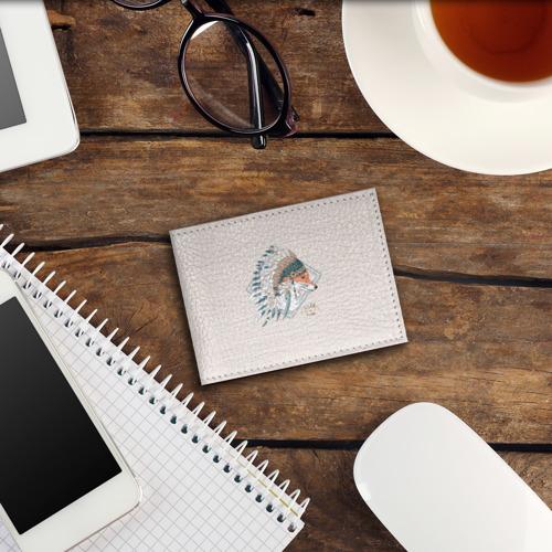 Обложка для студенческого билета Лиса в перьях Фото 01