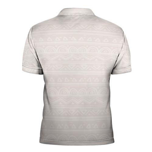 Мужская рубашка поло 3D  Фото 02, Лиса в перьях