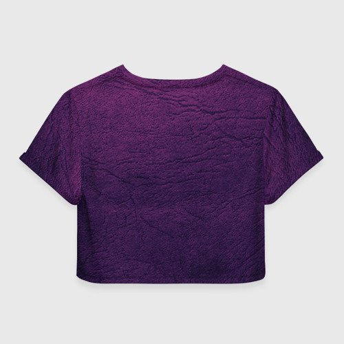 Женская футболка 3D укороченная  Фото 02, Совушка