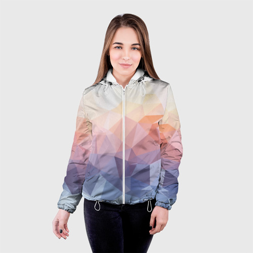 Женская куртка 3D  Фото 03, Геометрия