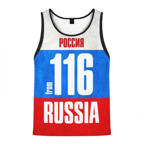 Мужская майка 3D Russia (from 116)
