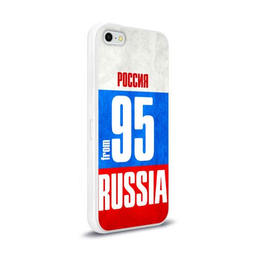 Чехол для Apple iPhone 5/5S силиконовый глянцевый  Фото 02, Russia (from 95)