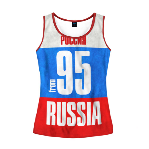 Женская майка 3D Russia (from 95)