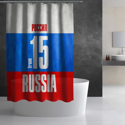 Штора 3D для ванной  Фото 02, Russia (from 15)