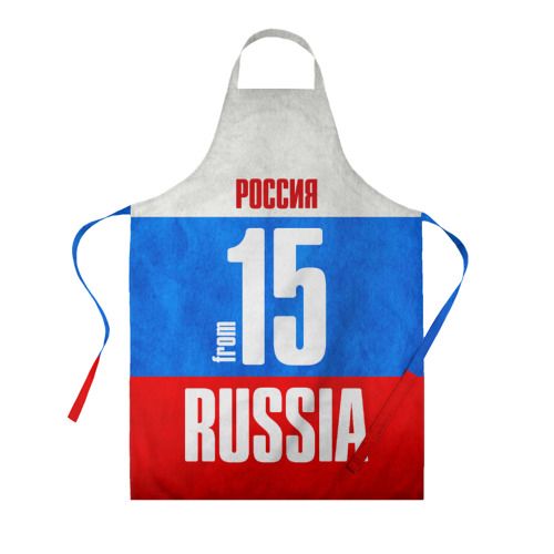 Фартук 3D Russia (from 15)