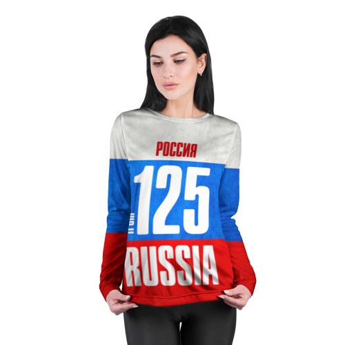 Женский лонгслив 3D для беременных  Фото 04, Russia (from 125)