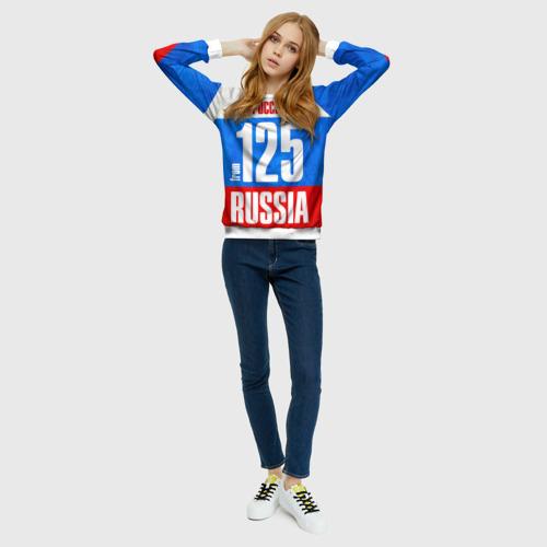 Женский свитшот 3D Russia (from 125)