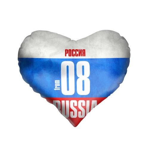Подушка 3D сердце  Фото 01, Russia (from 08)
