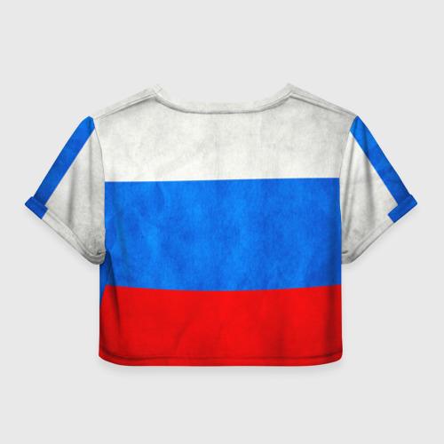 Женская футболка 3D укороченная  Фото 02, Russia (from 123)