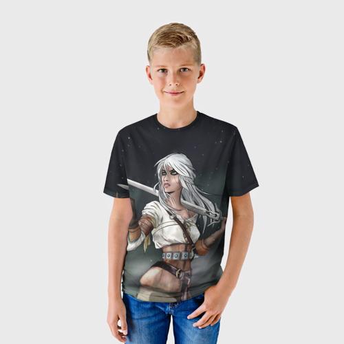 Детская футболка 3D  Фото 01, Ciri