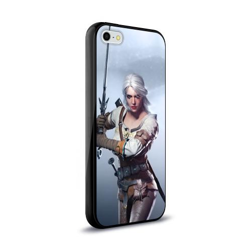 Чехол для Apple iPhone 5/5S силиконовый глянцевый  Фото 02, Цирилла