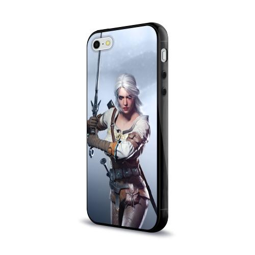 Чехол для Apple iPhone 5/5S силиконовый глянцевый  Фото 03, Цирилла