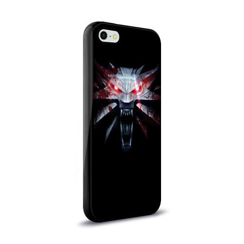 Чехол для Apple iPhone 5/5S силиконовый глянцевый  Фото 02, Медальон
