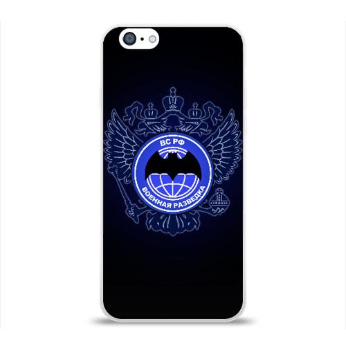 Чехол для Apple iPhone 6 силиконовый глянцевый Военная разведка Фото 01