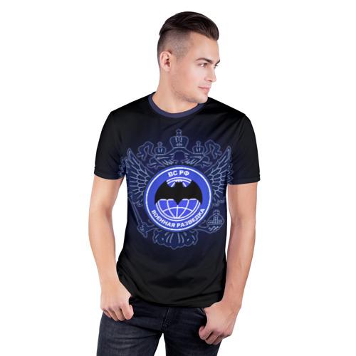 Мужская футболка 3D спортивная  Фото 03, Военная разведка