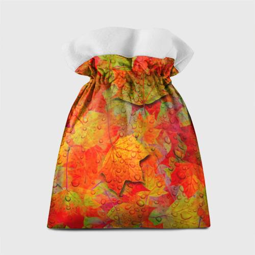 Подарочный 3D мешок Лист клёна Фото 01